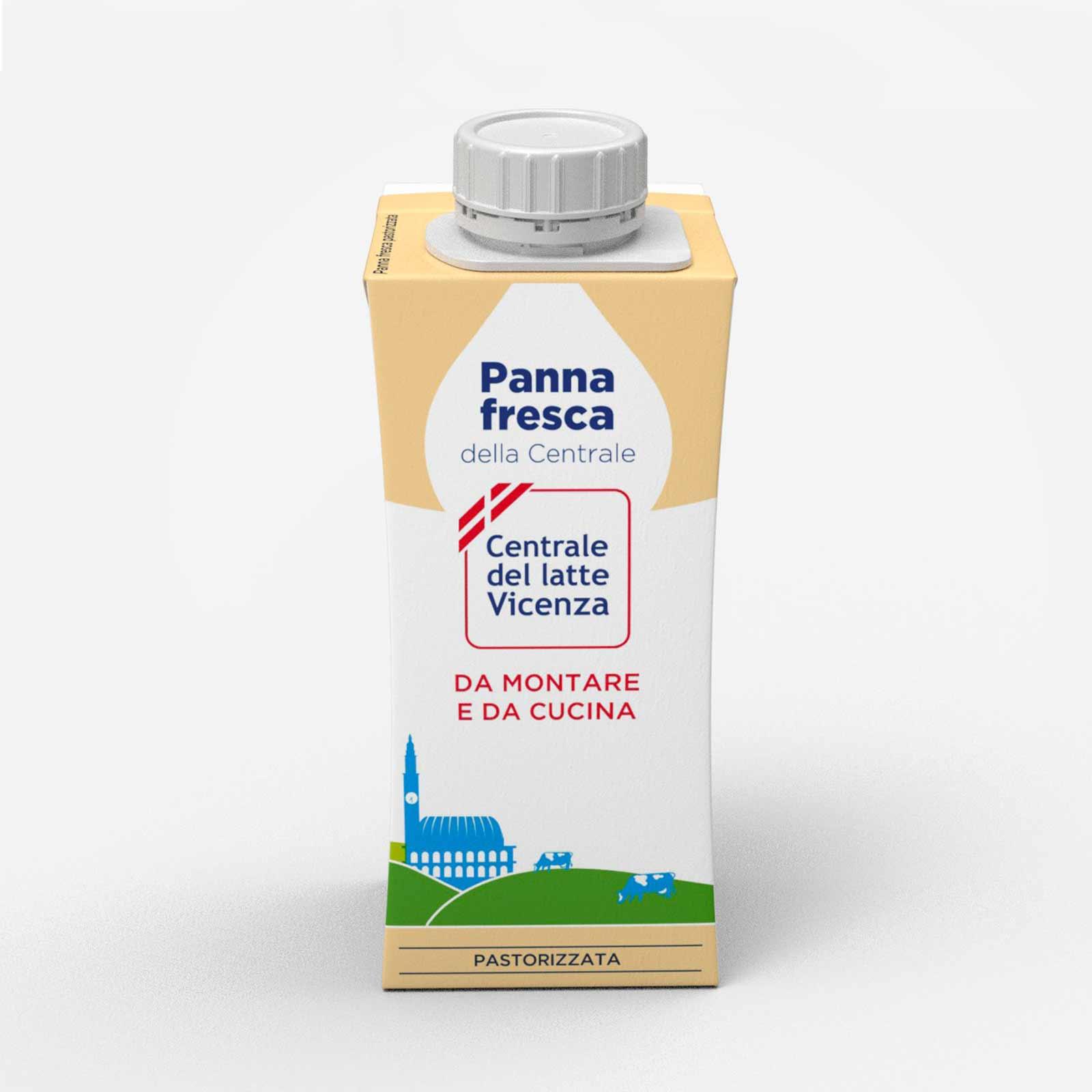 Panna fresca da 200 ml centrale del latte di vicenza - Differenza panna da cucina e panna fresca ...