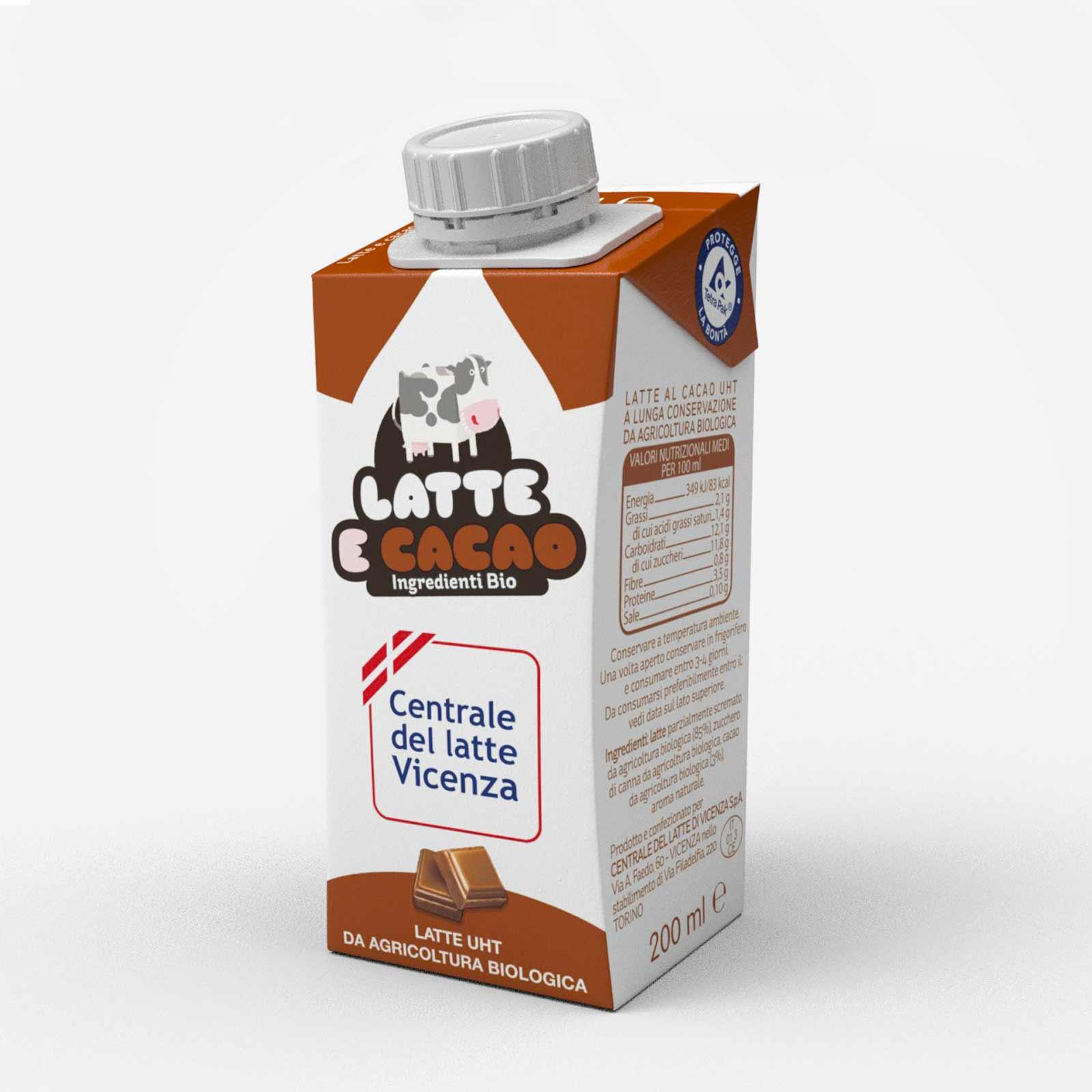 informazioni nutrizionali sul latte intero